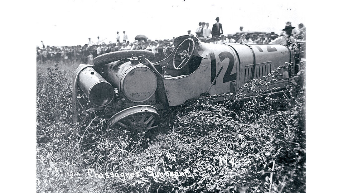 Unfall beim Indy 500