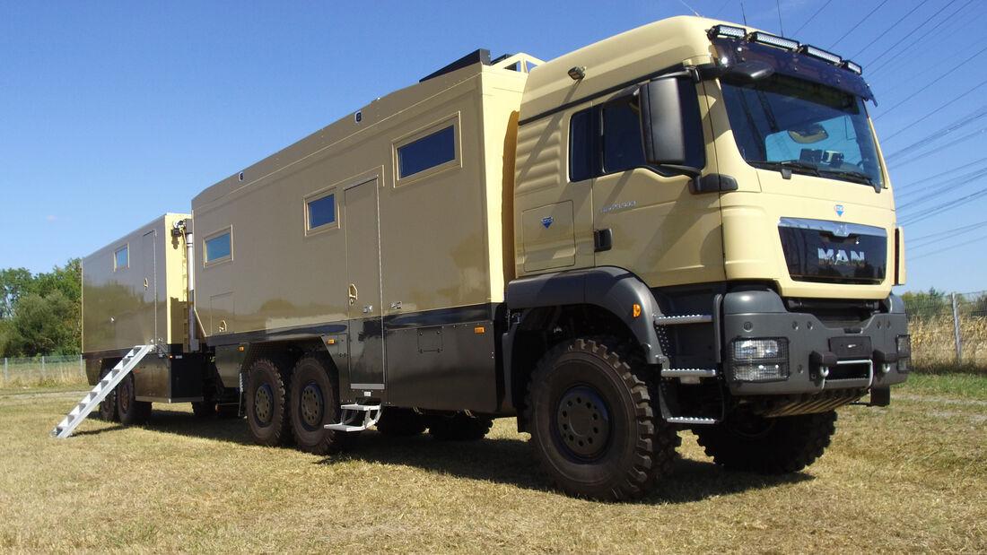 Unicat Expeditions-Fahrzeug MAN 6x6