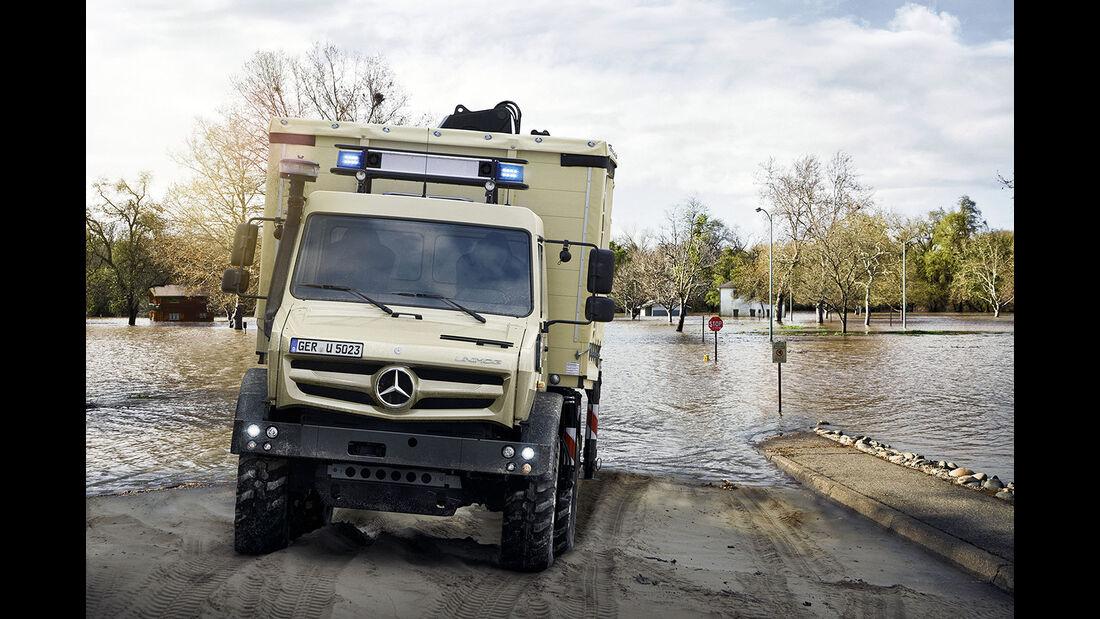 Unimog 5023 im Katastrophenschutz