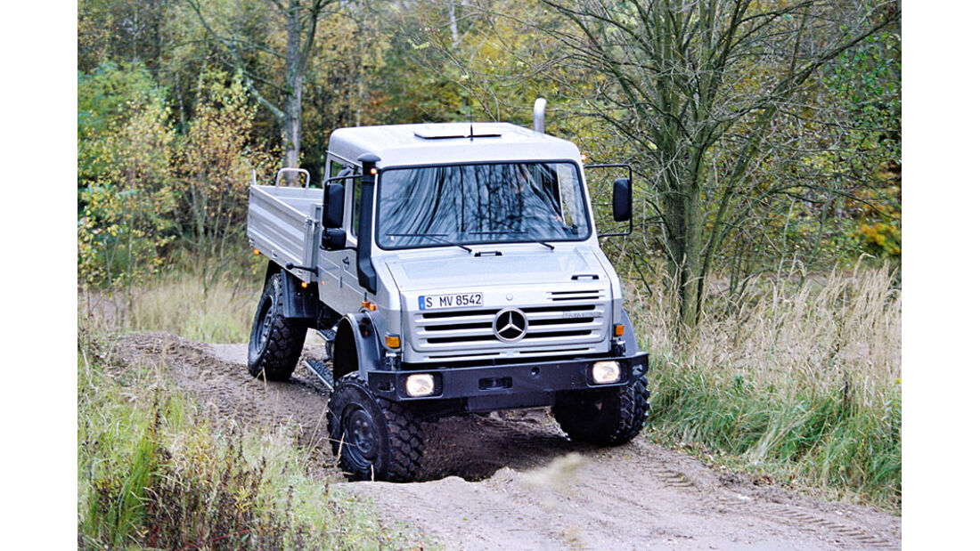 Unimog Fernreisemobil von Bocklet