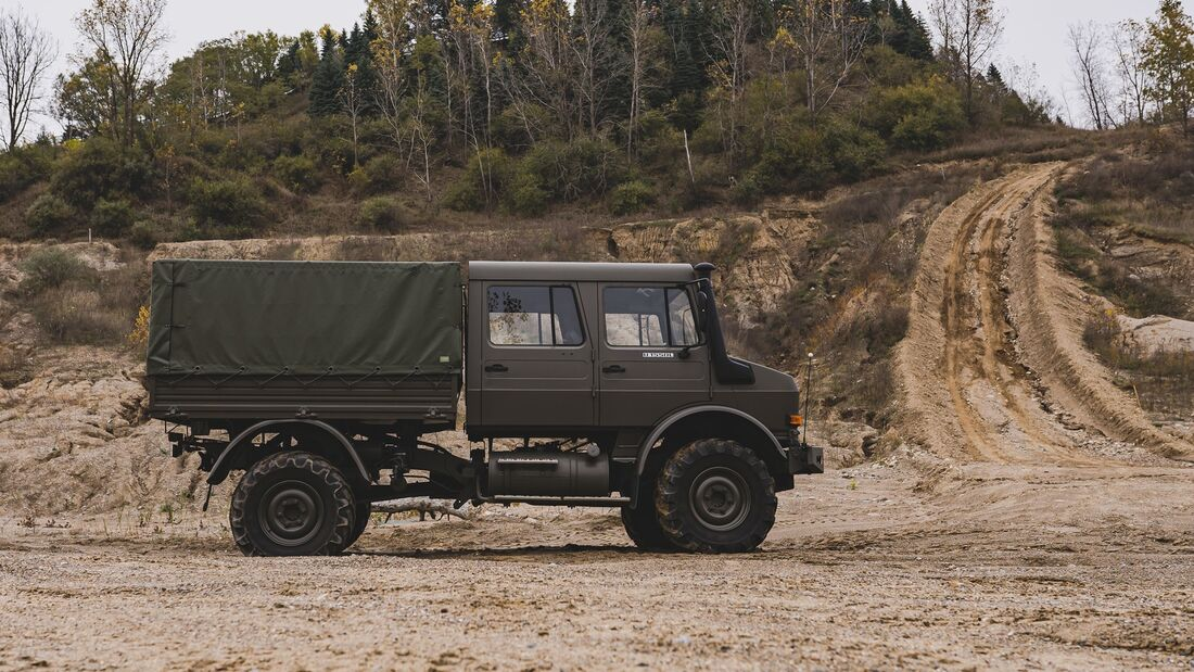 Unimog U 1550 L Auktion