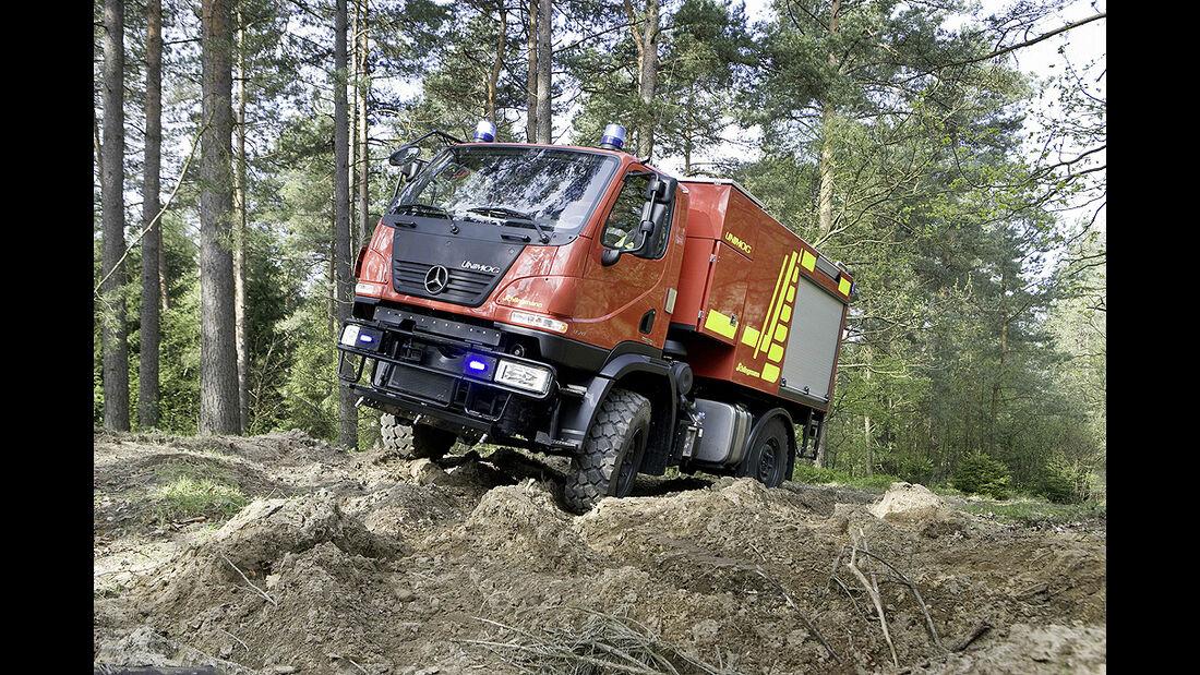 Unimog U 20 Tanklöschfahrzeug