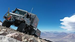 Unimog U 5023 Chile Hoehenweltrekord