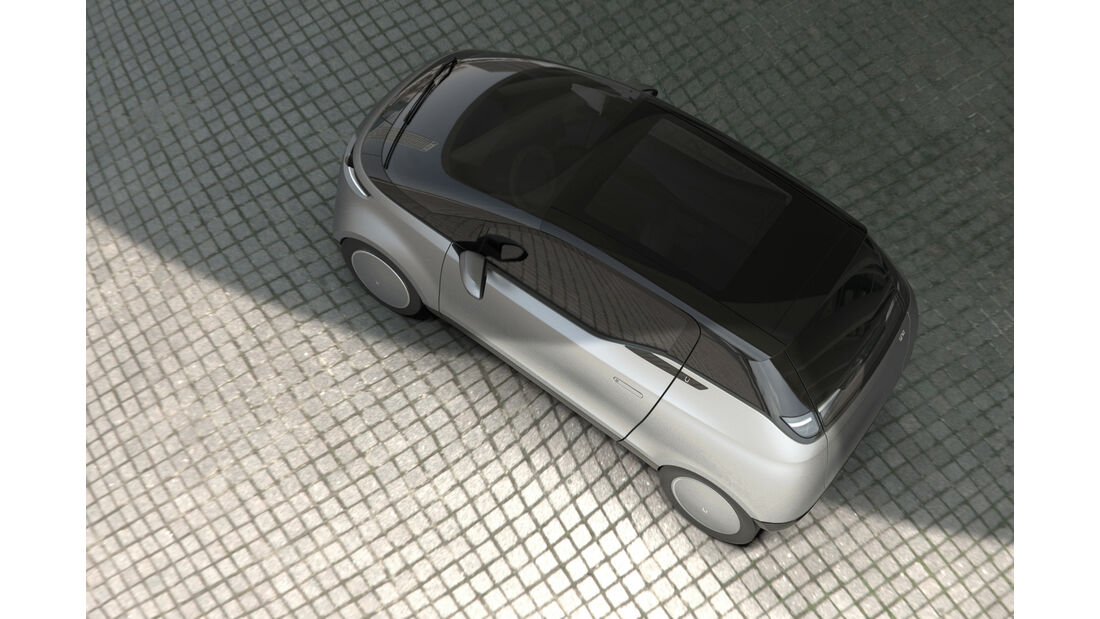 Uniti One Elektroauto Schweden Startup Concept