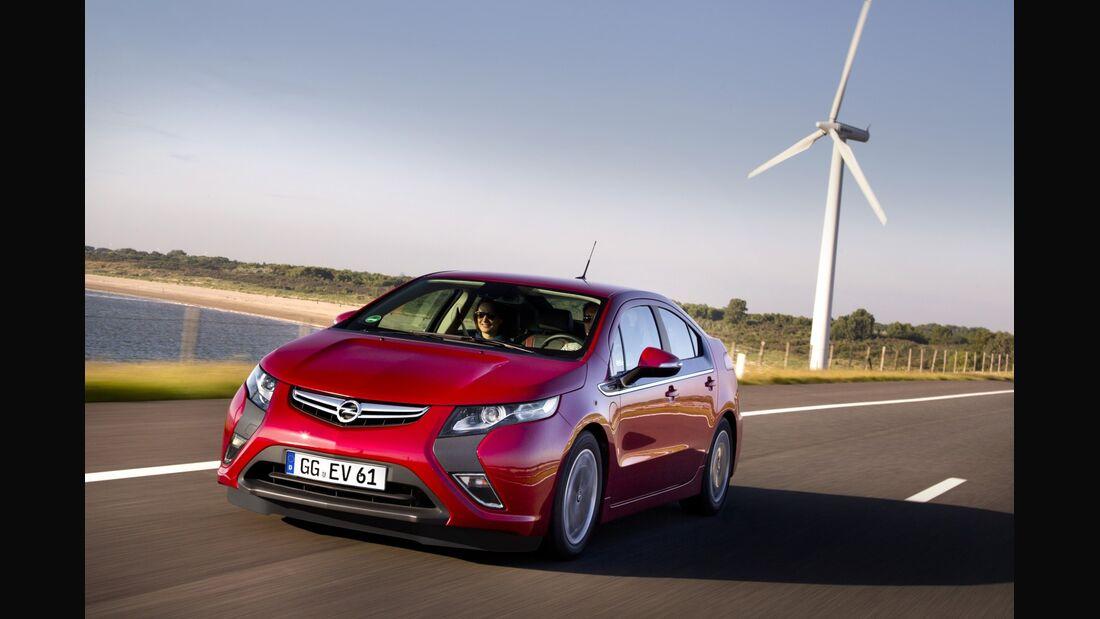"Unter dem Projektnamen ""BEV"" entwickelt Opel ein neues Elektroauto."