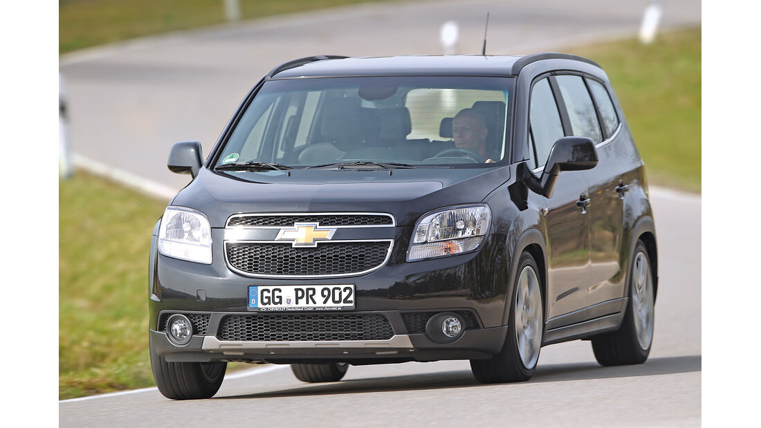 Unterhalts-Schnäppchen, Chevrolet Orlando 1.8