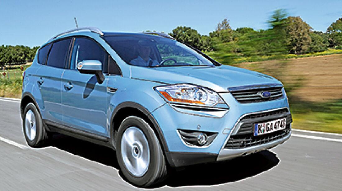 Unterhalts-Schnäppchen, Ford Kuga 2.0 TDCi