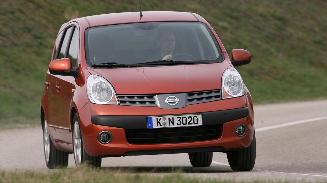 Unterhalts-Schnäppchen, Nissan Note 1.4