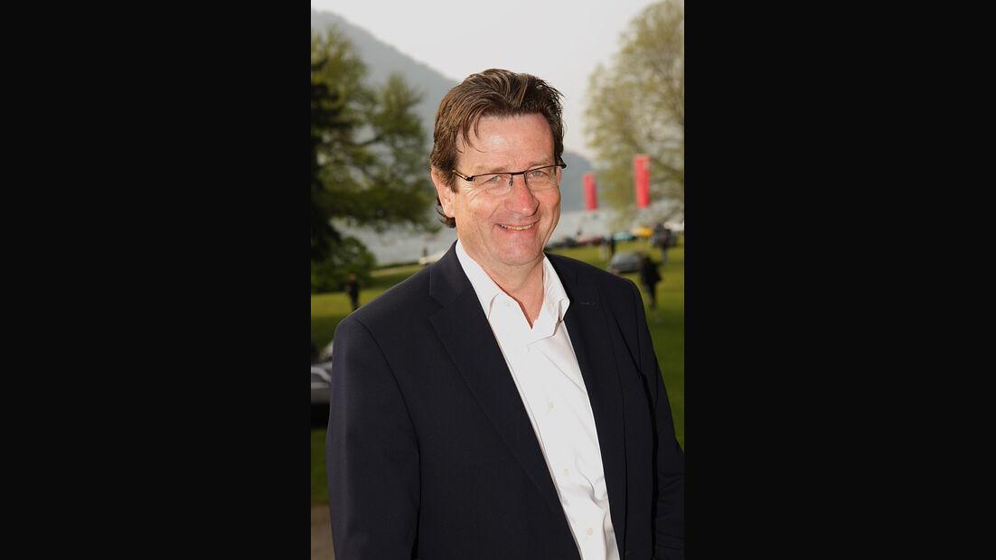 Urs Paul Ramseier ist für die Auswahl der Teilnehmer-Fahrzeuge verantwortlich