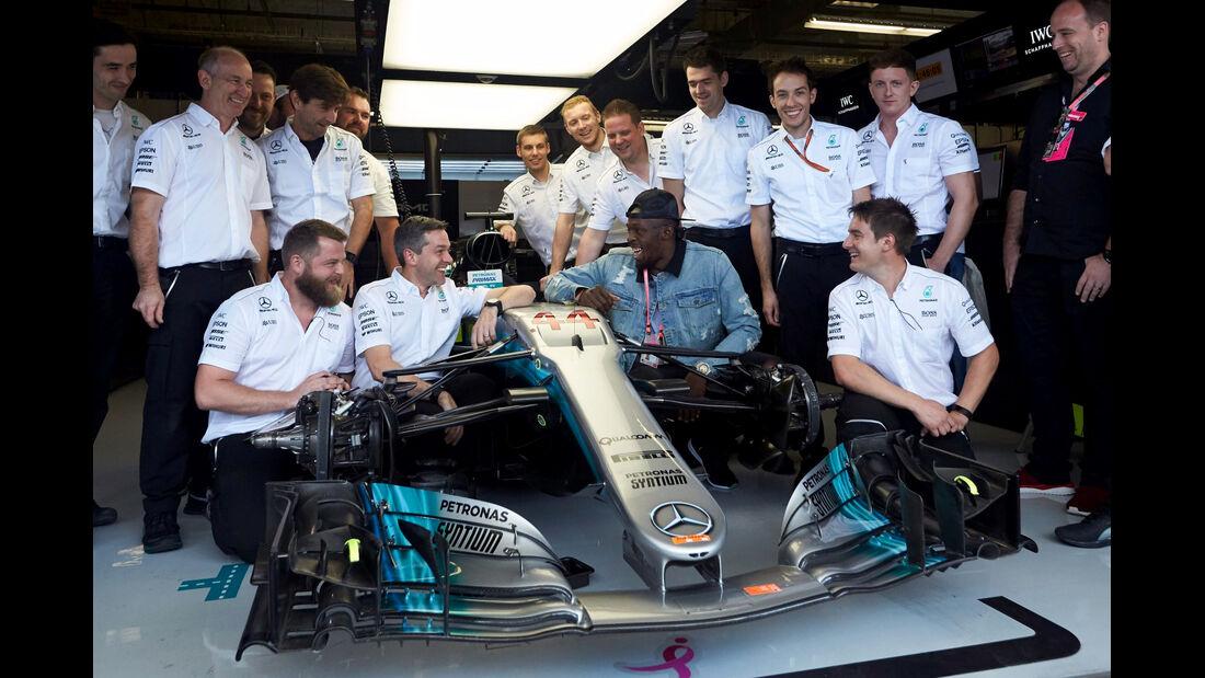 Usain Bolt - Mercedes - GP USA 2017