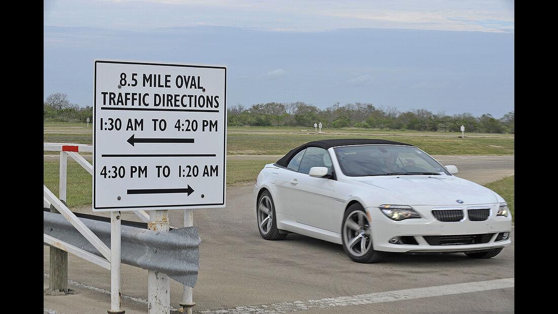 Uvalde Testzentrum, Continental, Texas, BMW 7er