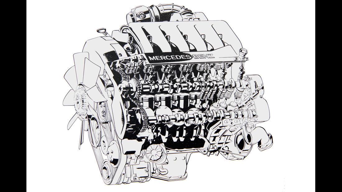 V12, Mercedes SL