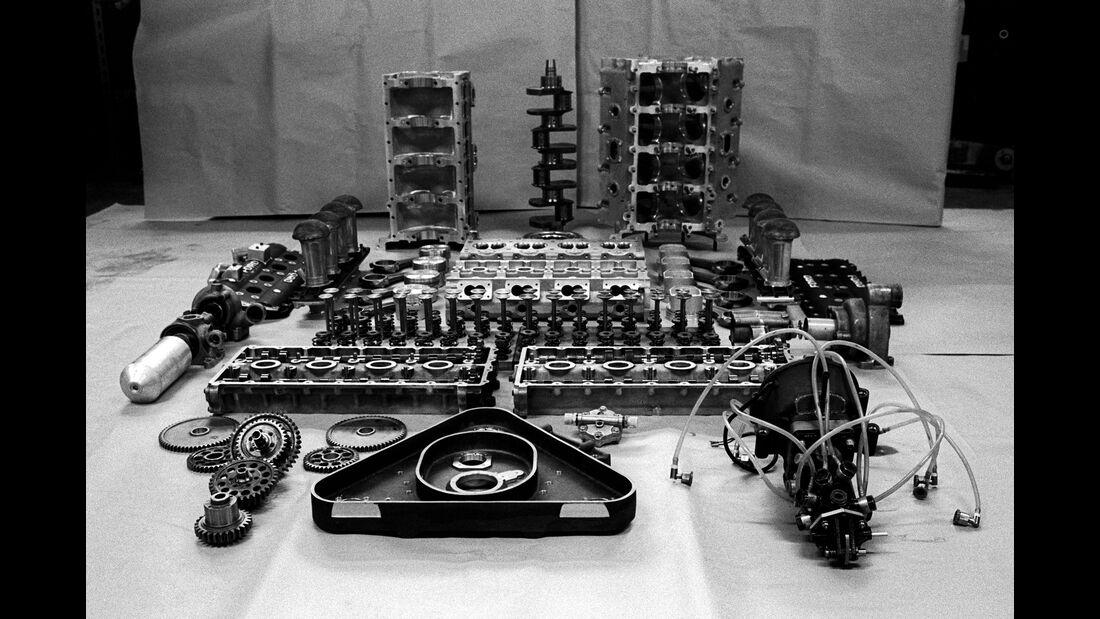 V8-Cosworth - Ford DFV - F1 Motor - England 1967