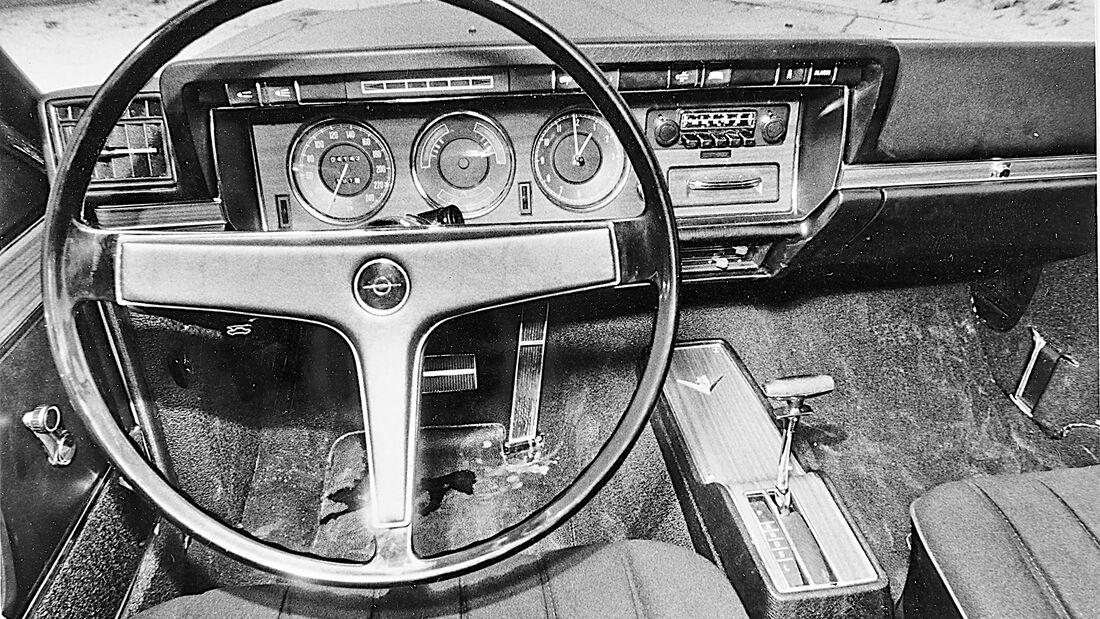 V8 Vergleich 1970 Mercedes Opel