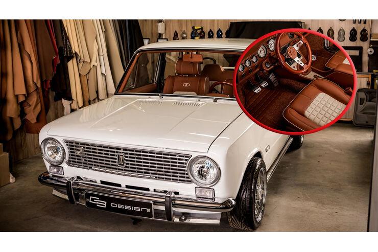 VAZ-2101 50th Anniversary Edition: Restomod-Hingucker | AUTO MOTOR UND SPORT - auto motor und sport