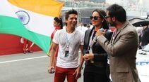 VIPs  - Formel 1 - GP Indien - 28. Oktober 2012