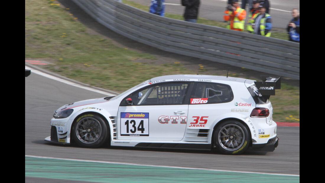 VLN, 2011, #134, Klasse SP8T , VW Golf GT 24, Volkswagen Motorsport