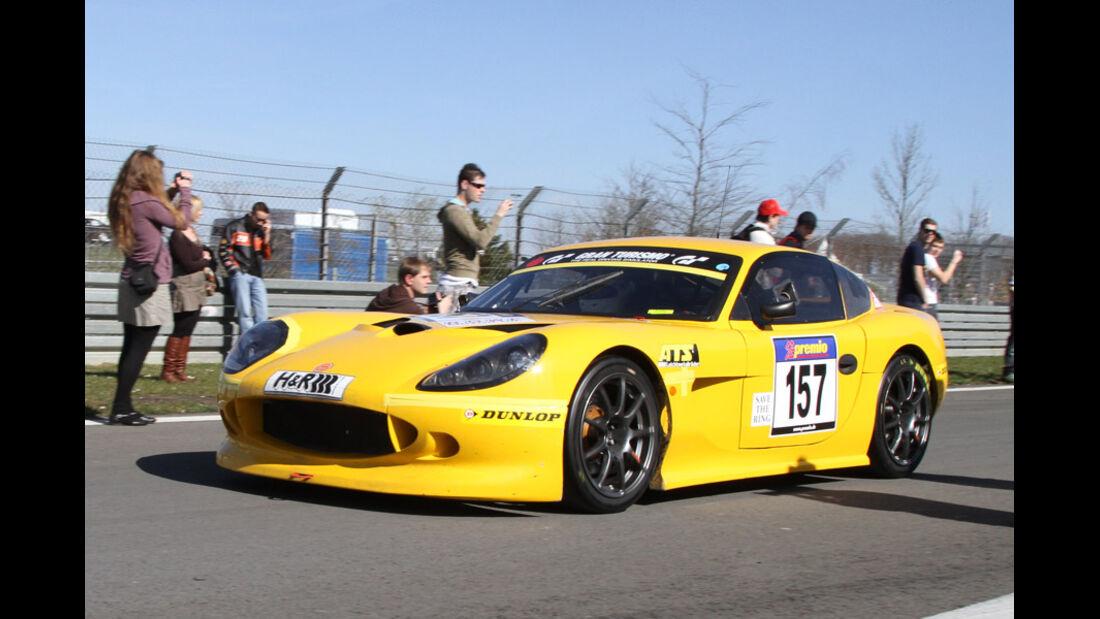 VLN, 2011, #157, Klasse SP10 , Ginetta G50,