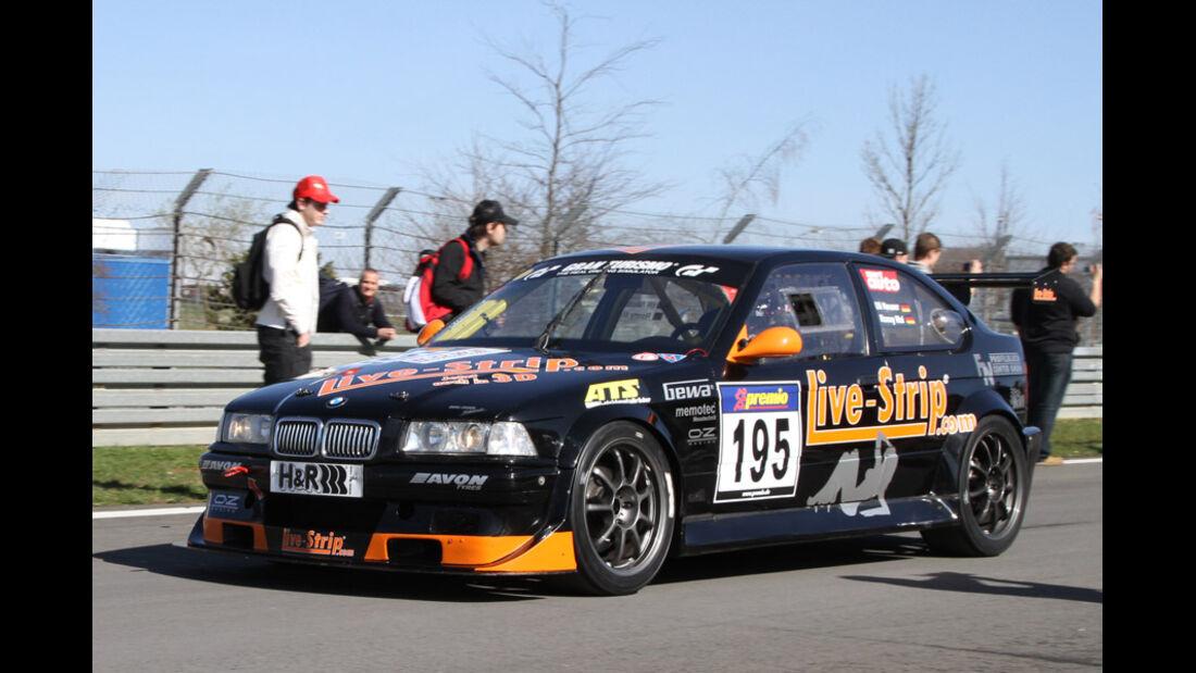 VLN, 2011, #195, Klasse SP5 , BMW M3 Compact GTR, Live-Strip.com Racing
