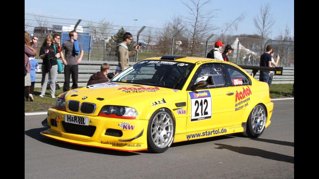 VLN, 2011, #212, Klasse SP5 , BMW M3, MSC Rhön e.V. im AvD