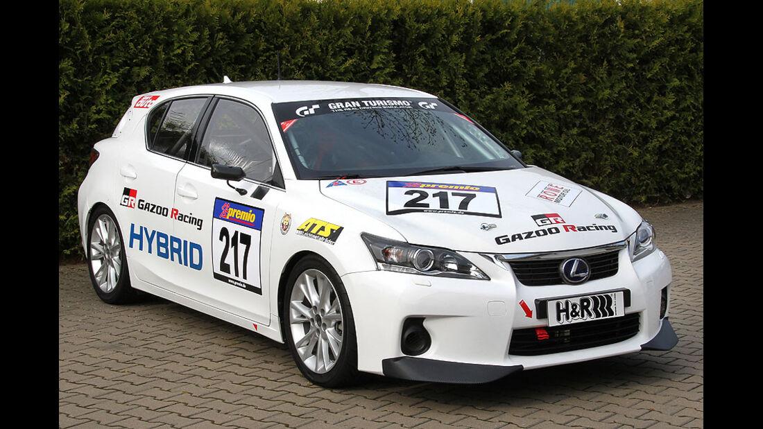 VLN, 2011, #217, Klasse SP4 , Lexus CT, Gazoo Racing