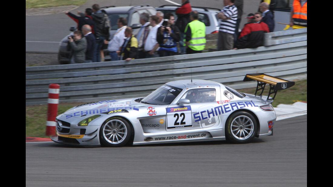 VLN, 2011, #22, Klasse SP9 , Mercedes-Benz SLS AMG GT3,