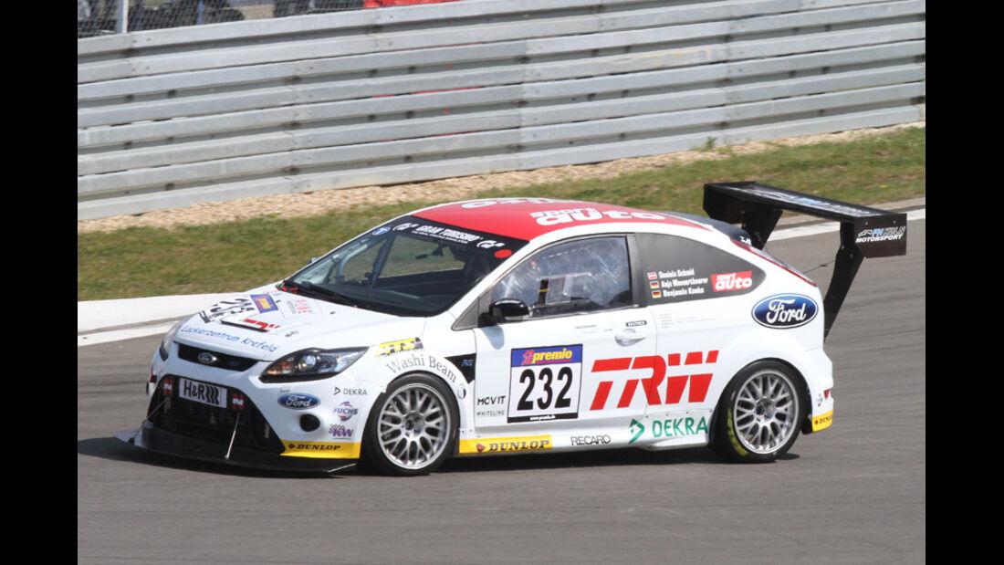 VLN, 2011, #232, Klasse SP4T , Ford Focus RS, FH Köln Motorsport e.V.