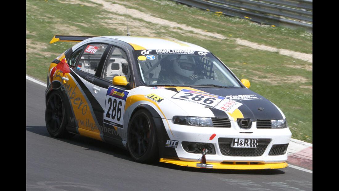 VLN, 2011, #286, Klasse SP3T , SEAT Leon Supercopa,