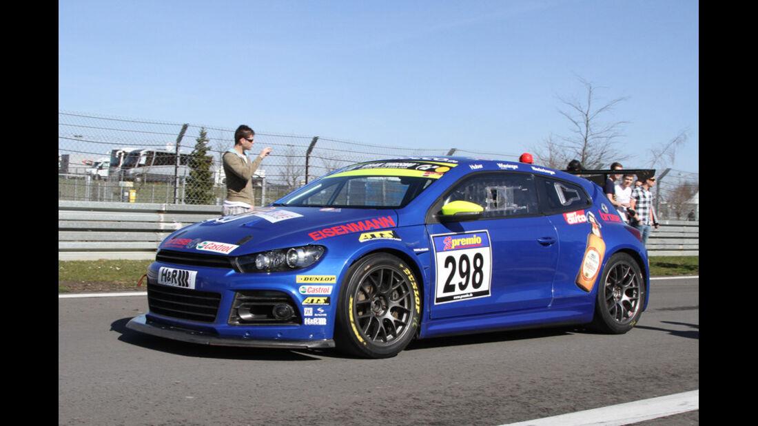 VLN, 2011, #298, Klasse SP3T , VW Scirocco,