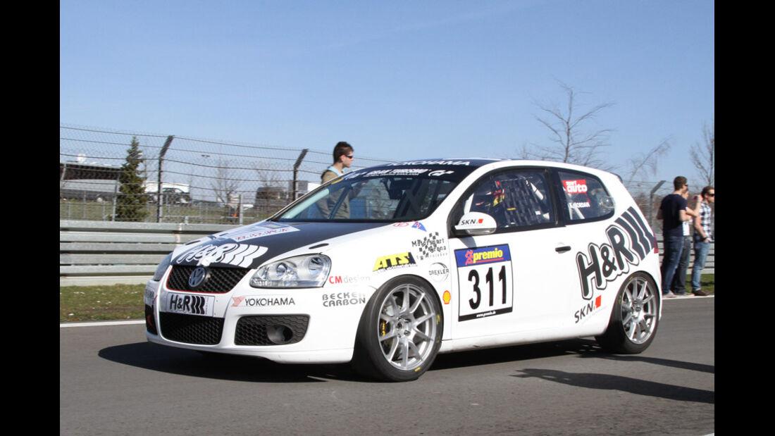VLN, 2011, #311, Klasse SP3T , VW Golf, H&R Spezialfedern GmbH & Co.