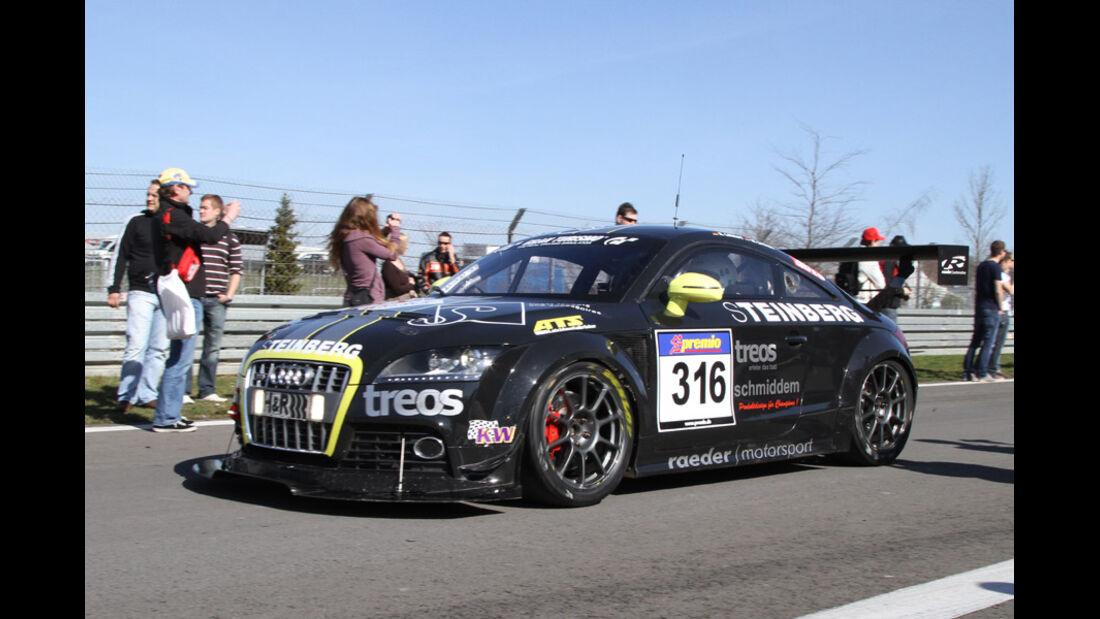 VLN, 2011, #316, Klasse SP3T , Audi TTS,
