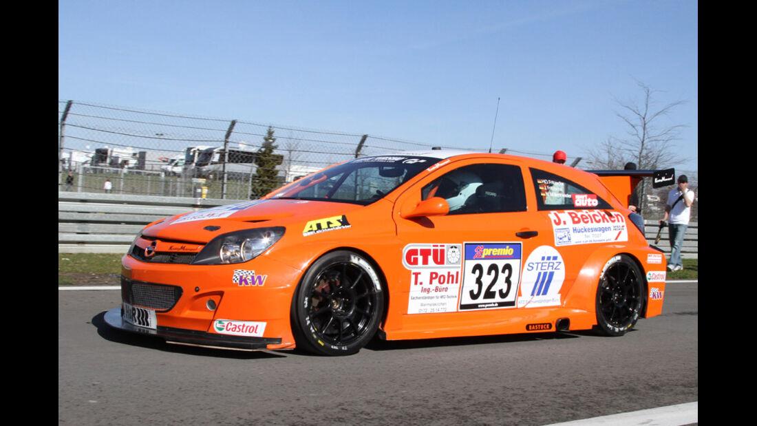 VLN, 2011, #323, Klasse SP3T , Opel Astra OPC, Kissling Motorsport