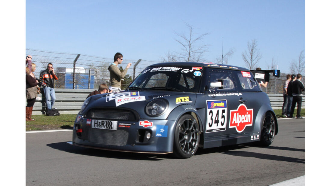 VLN, 2011, #345, Klasse SP2T , BMW Mini, Alpecin-Schirra-motoring