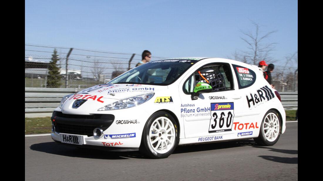 VLN, 2011, #360, Klasse SP2T , Peugeot 207 RC, FLEPER MOTORSPORT