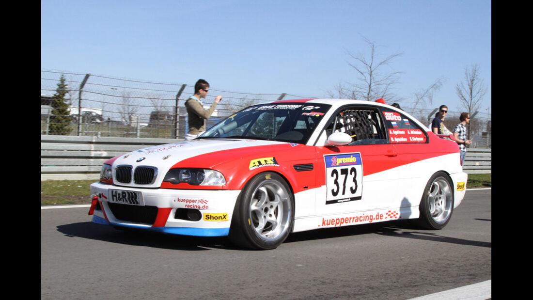 VLN, 2011, #373, Klasse V6 , BMW M3, Dürener Motorsport-Club
