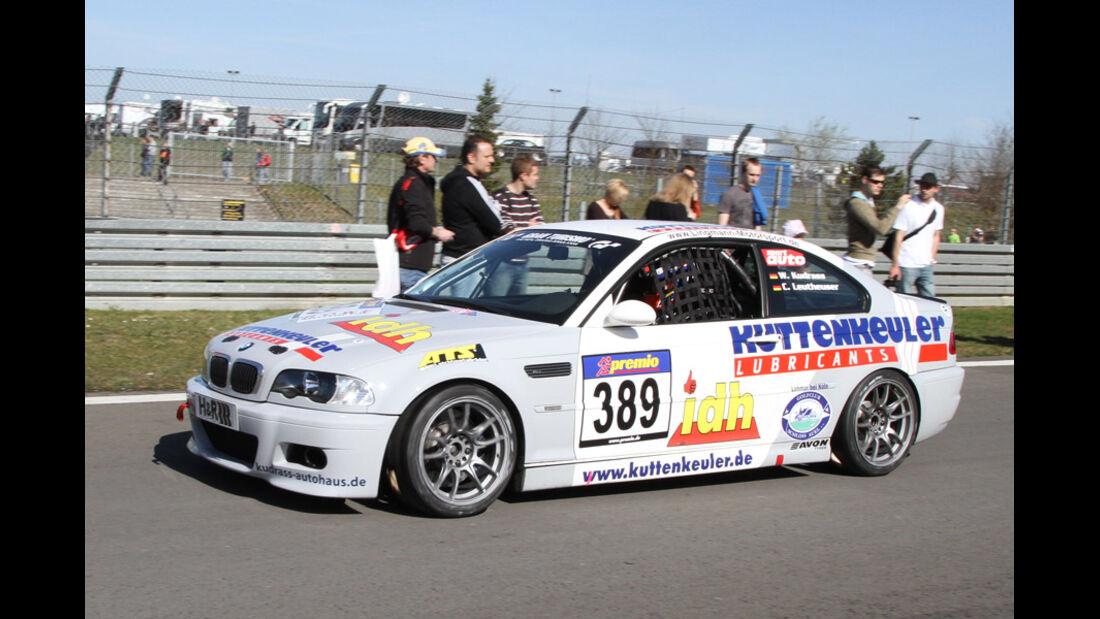 VLN, 2011, #389, Klasse V6 , BMW M3, MSC Rhön e.V. im AvD