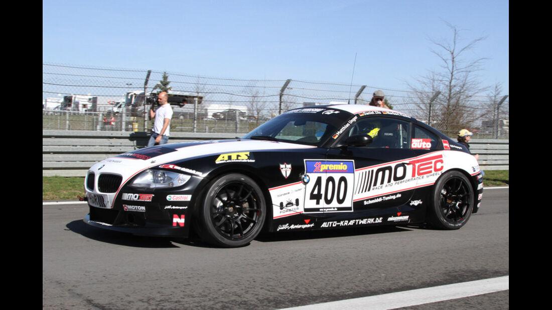 VLN, 2011, #400, Klasse V5 , BMW Z4, Team DMV e.V.