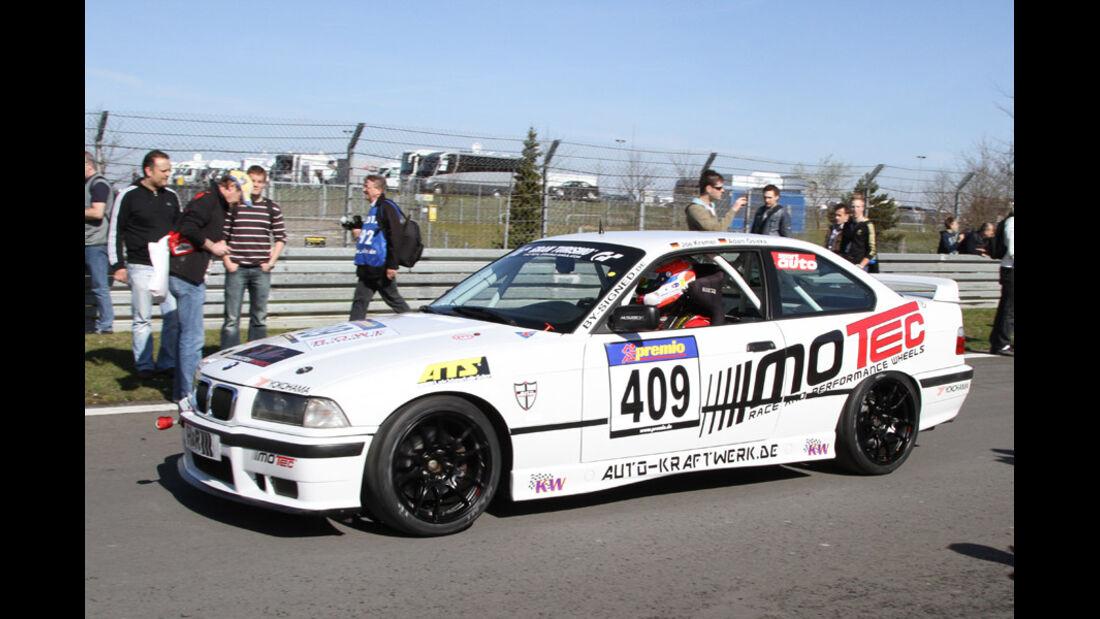VLN, 2011, #409, Klasse V5 , BMW M3 GT,