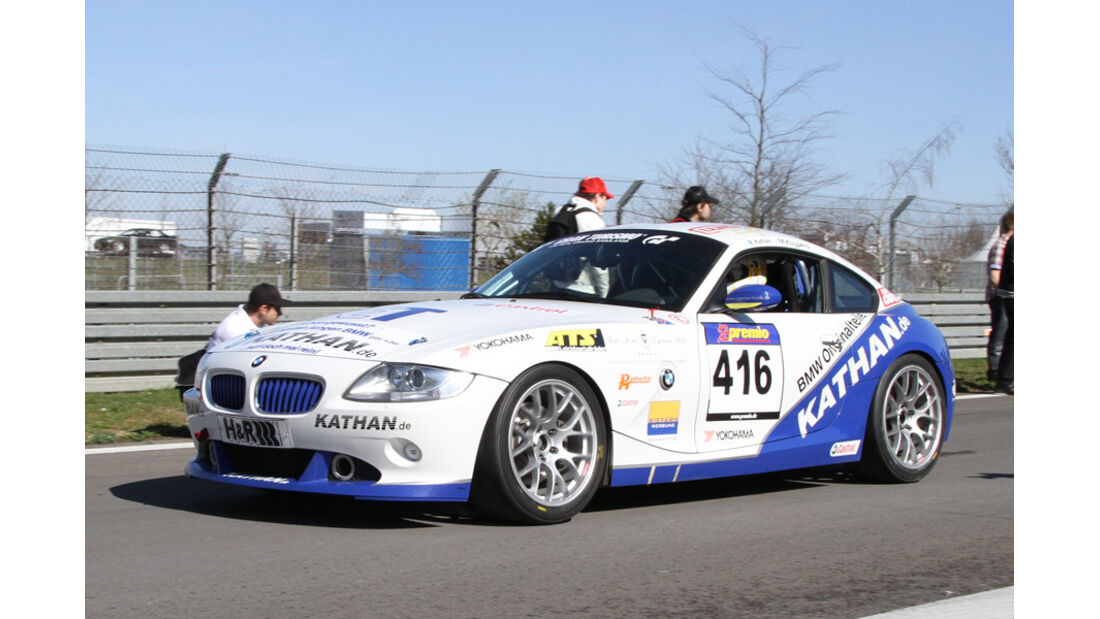 VLN, 2011, #416, Klasse V5 , BMW Z4, MSC am Tegernsee e.V.