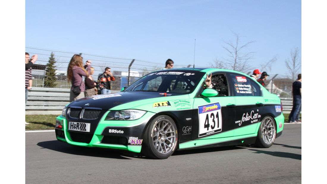 VLN, 2011, #431, Klasse V4 , BMW 325i, Dolate Motorsport