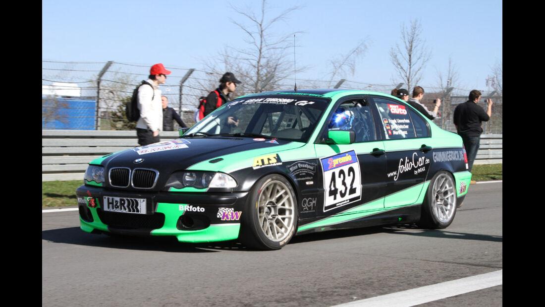 VLN, 2011, #432, Klasse V4 , BMW 325i, Dolate Motorsport