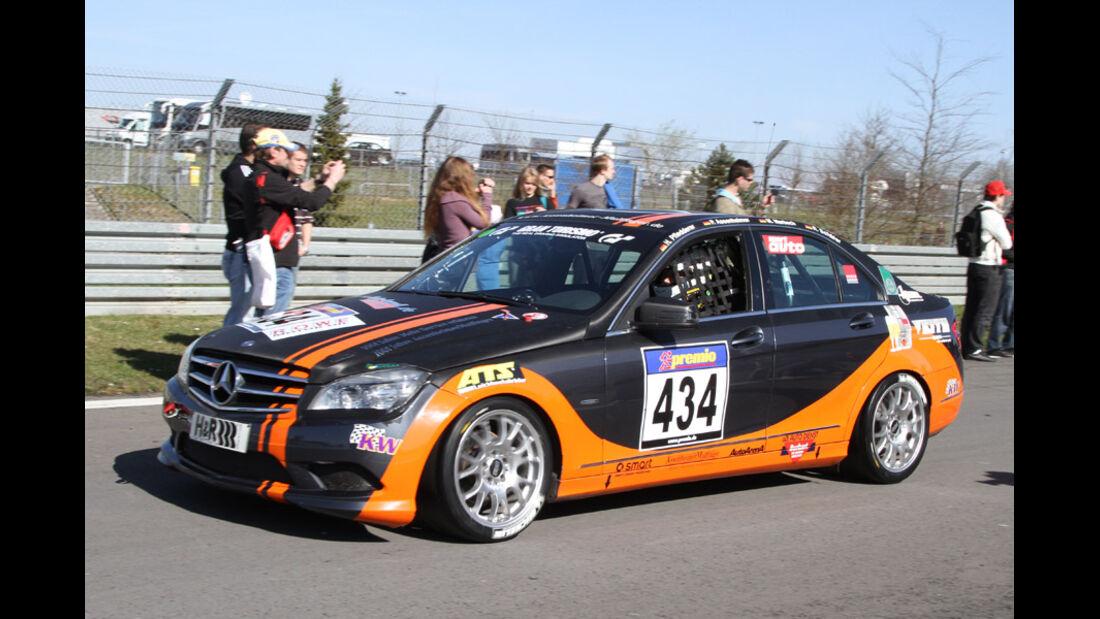 VLN, 2011, #434, Klasse V4 , Mercedes-Benz C230, Team AutoArenA Motorsport