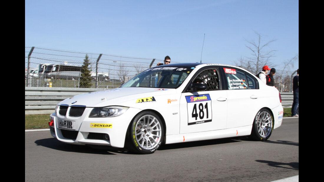 VLN, 2011, #481, Klasse V3 , BMW 320si,