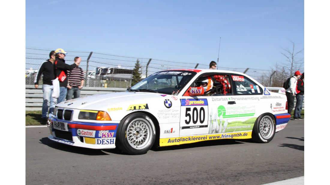 VLN, 2011, #500, Klasse V2 , BMW 318is, MSC Wahlscheid e. V. im ADAC