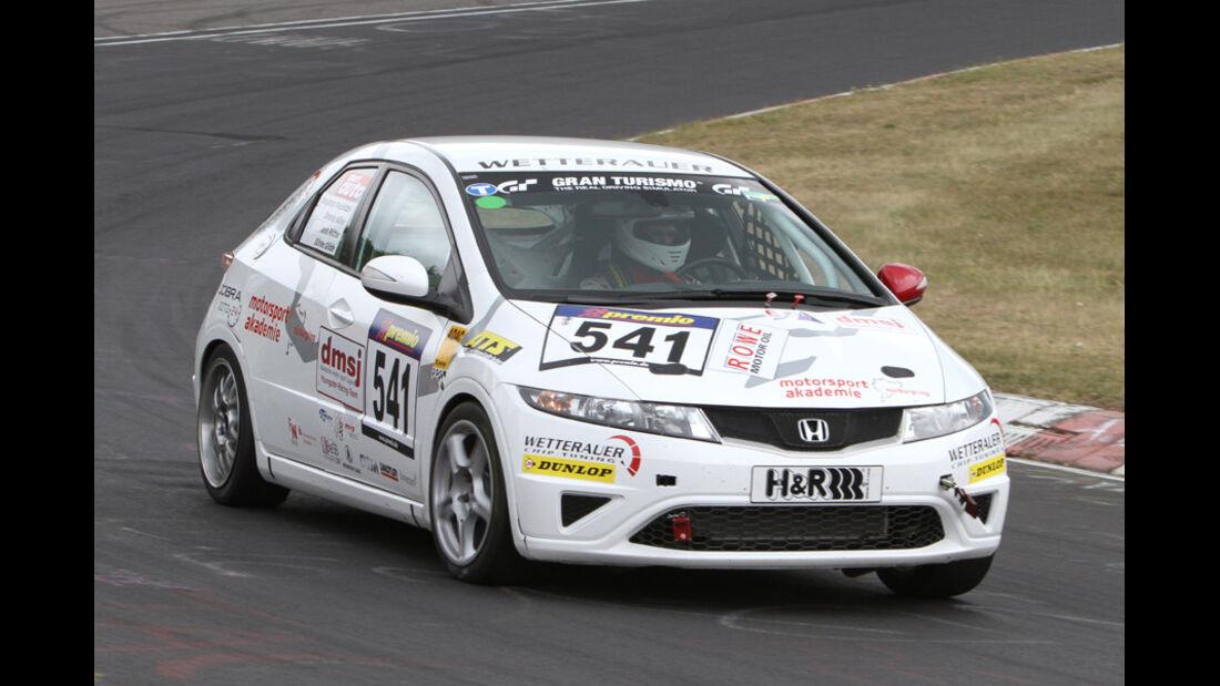 VLN, 2011, #541, Klasse VD2T , Honda Civic, dmsj Youngster Racing Team ADAC Mittelrhein e.V.