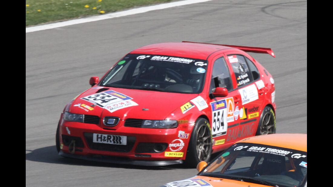 VLN, 2011, #554, Klasse VD1T , SEAT Leon TDi, Dortmunder MC e. V. im ADAC