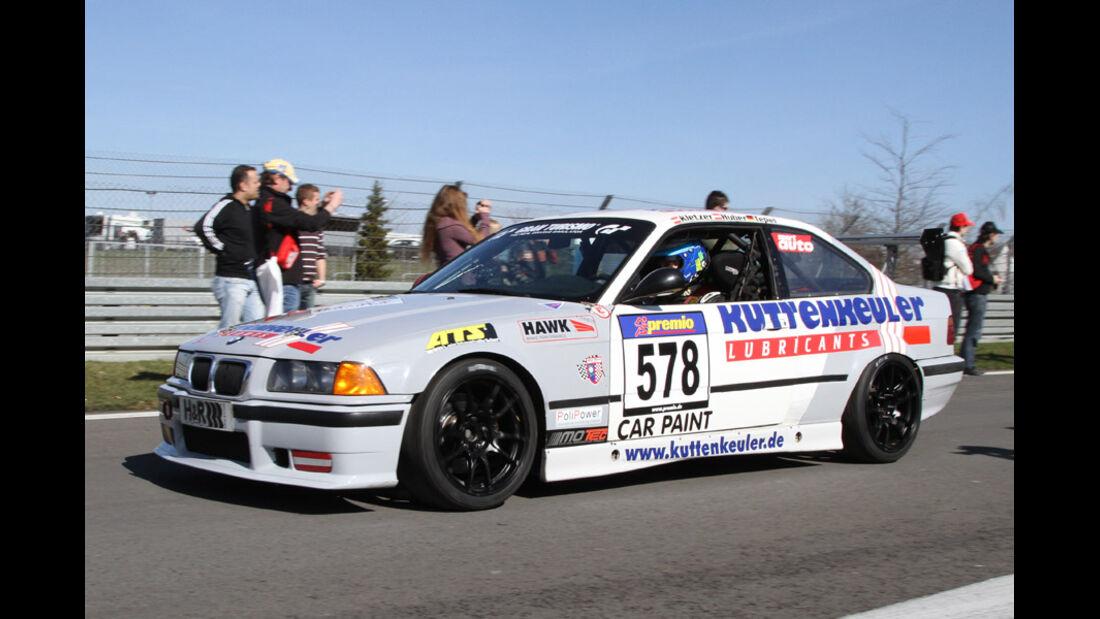 VLN, 2011, #578, Klasse H3 , BMW M3, MSC Rhön e.V. im AvD