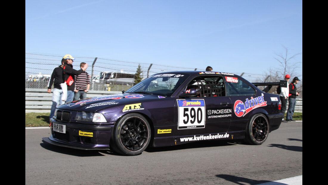 VLN, 2011, #590, Klasse H3 , BMW M3, MSC Rhön e.V. im AvD