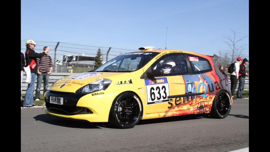 VLN, 2011, #633, Klasse CUP3 , Renault Clio Cup,