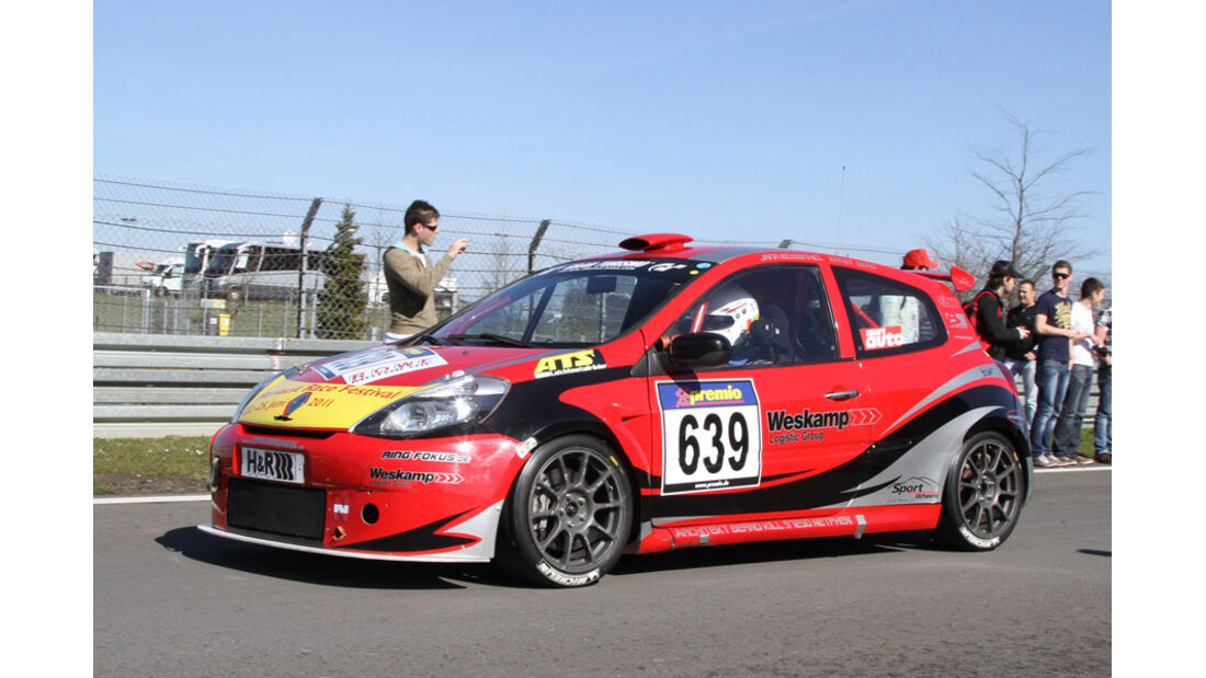 VLN, 2011, #639, Klasse CUP3 , Renault Clio Cup,